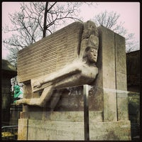 Photo taken at Père Lachaise Cemetery by Antony F. on 2/28/2013