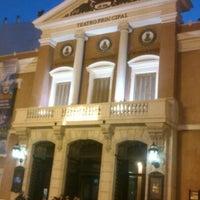 Photo taken at Teatre Principal by David M. on 1/5/2013