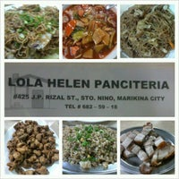 Photo taken at Lola Helen Panciteria by camslian on 5/1/2013