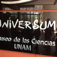 Photo taken at Universum, Museo de las Ciencias by Salvador G. on 3/29/2013