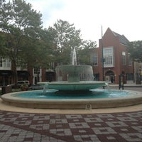 Photo taken at Forrestal Village by Aditi M. on 8/20/2013
