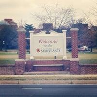 Photo taken at University of Maryland by Luke W. on 2/16/2013