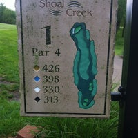 Photo taken at Shoal Creek Golf Course by Scott T. on 5/19/2013