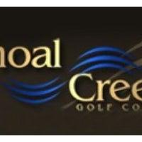 Photo taken at Shoal Creek Golf Course by Scott T. on 10/12/2014