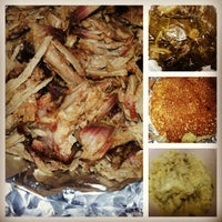 Photo taken at Sam's House Memphis Style BBQ by Anita W. on 7/2/2014