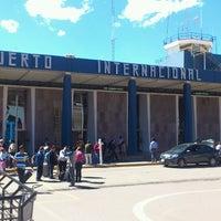 Photo taken at Alejandro Velasco Astete International Airport (CUZ) by Cristian C. on 7/22/2013