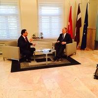 Photo taken at Letonya Büyükelçiliği by MEHMED🔗 on 4/16/2014