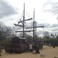 Photo taken at Diana Memorial Playground by NikOS on 4/22/2013