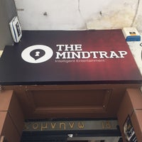 Photo taken at The Mindtrap by Μυρτώ Λ. on 4/4/2016