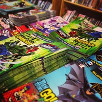 Photo taken at Big Brain Comics by Mark B. on 5/4/2013