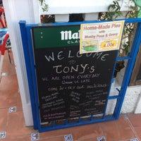 Photo taken at Tonys Bar by Ben W. on 5/26/2013