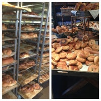 Photo taken at Hendon Bagel Bakery by Anna P. on 1/25/2013