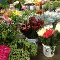 Photo taken at SF Flower Mart by Christine D. on 7/16/2013