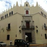 Photo taken at UADY (Edificio Central) by Jose de la o C. on 6/4/2013