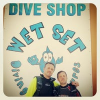 Photo taken at Wet Set Diving Adventures by For 91 D. on 11/20/2013