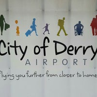 Photo taken at City of Derry Airport (LDY) by Rue on 5/11/2016