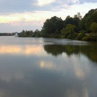 Photo taken at Granville Gude Park and Lakeside by Mark R. on 9/22/2012