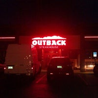 Photo taken at Outback Steakhouse by Nick C. on 1/31/2013