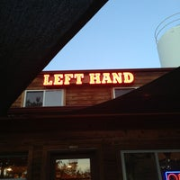 Photo taken at Left Hand Brewing Company by Rebecca L. on 6/18/2013