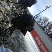 Photo taken at Трасса для лыжного двоеборья by Роман Ч. on 2/20/2014