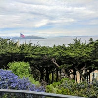 Photo taken at Telegraph Hill by Eugene B. on 3/19/2017