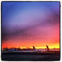 Photo taken at Gate C105 by Erik on 1/21/2014