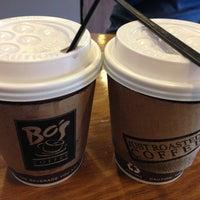 Photo taken at Bo's Coffee by Tatu T. on 3/12/2013