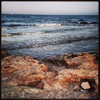 Photo taken at Playa El Salaret / Los Locos by Yulia K. on 7/11/2013