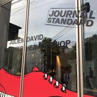 Photo taken at JOURNAL STANDARD OMOTESANDO by Manami on 9/30/2017