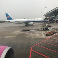 Photo taken at Gate D60 by Manami on 6/24/2017