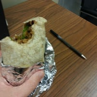 Photo taken at Mucho Burrito Fresh Mexican Grill by Chris K. on 12/18/2012