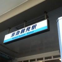 Photo taken at Keikyū Tsurumi Station (KK29) by しゅー君 on 12/27/2012