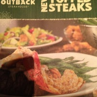 Photo taken at Outback Steakhouse by Myke @. on 12/12/2012