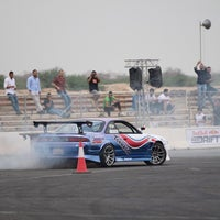 Photo taken at drift 1/4 mile club by Thamer A. on 10/31/2014