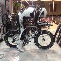 Photo taken at Maglaris bikes by Thanasis T. on 11/8/2013