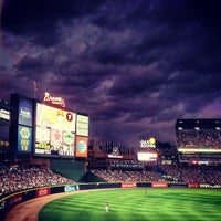 Photo taken at Turner Field by Gabriel F. on 6/29/2013