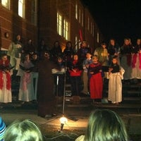 Photo taken at St. Michael the Archangel Catholic School by Jenipher S. on 12/15/2012