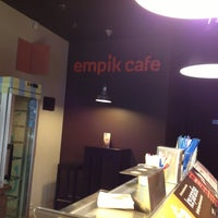 Photo taken at Empik Cafe by Anna D. on 4/20/2013