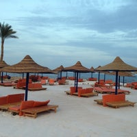 Photo taken at Pyramisa Resort Sharm El-Sheikh by Виктория Д. on 1/29/2013