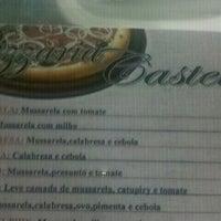 Photo taken at Pizzaria Castelo by Matheus T. on 1/21/2013