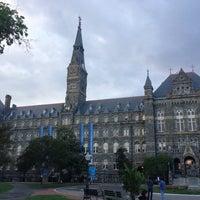 Photo taken at Georgetown University by Dark H. on 5/9/2013