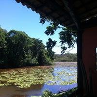 Photo taken at Pousada Lagoa da Mata by Thiago C. on 12/25/2012