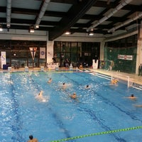 Photo taken at Sportski Centar Igalo by Dragana C. on 11/20/2013
