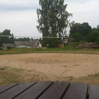 Photo taken at Bērzciema volley laukums by Edgars Z. on 7/29/2013