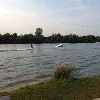 Photo taken at Wasserski-Anlage by Tamara Z. on 7/13/2013