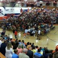Photo taken at Mahomet-Seymour High School by Eric B. on 6/4/2014