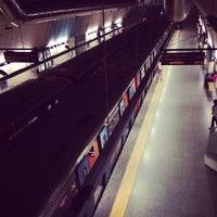 Photo taken at Metro São Sebastião [AZ,VM] by Catarina B. on 5/8/2013