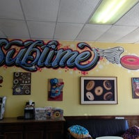 Photo taken at Sublime Doughnuts by John K. on 3/10/2013