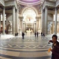 Photo taken at Panthéon by Nicolas N. on 6/3/2013