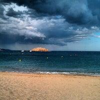 Photo taken at Gran Beach by CJ C. on 2/3/2013